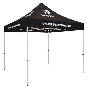713728340-108 - Standard 10' Tent Kit (Full-Color Imprint, 8 Locations) - thumbnail