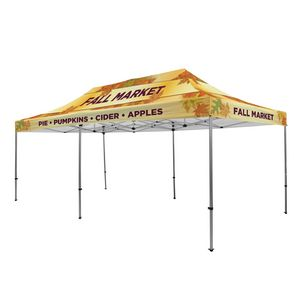 735009845-108 - Premium Aluminum 20' Tent Kit (Full-Bleed Dye Sublimation) - thumbnail
