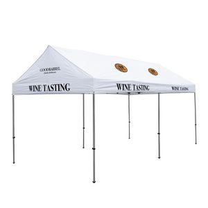 796185594-108 - 10' x 20' Premium Gable Tent Kit - 9 Location Imprint - thumbnail