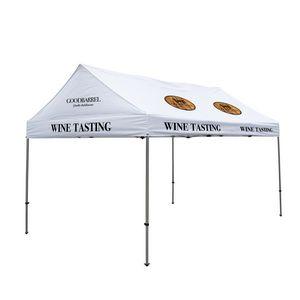 906185567-108 - 10' x 15' Premium Gable Tent Kit - 9 Location Imprint - thumbnail