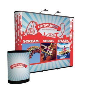 955438454-108 - 10' Straight Show 'N Rise Floor Display Kit (Full Mural) - thumbnail