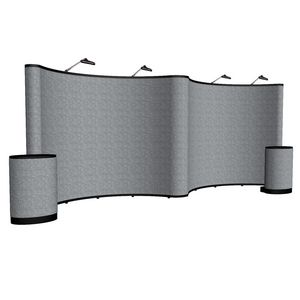 964022025-108 - 20' Gullwing Show 'N Rise Floor Display Kit (Fabric) - thumbnail