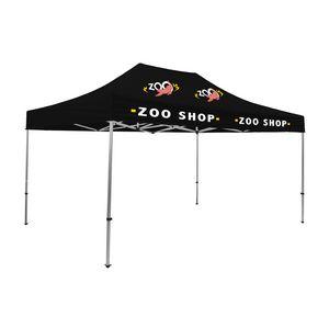 975009823-108 - Premium Aluminum 15' Tent Kit (Imprinted, 4 Locations) - thumbnail