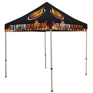 984574194-108 - Deluxe 8' Tent Kit (Full-Bleed Dye Sublimation) - thumbnail
