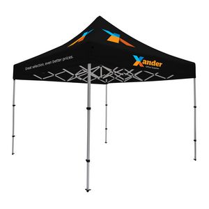 985565882-108 - Compact 10' Tent Kit (Full-Color Imprint, 4 Locations) - thumbnail
