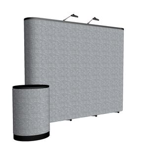 993148465-108 - 10' Straight ARISE Floor Display Kit (Fabric) - thumbnail