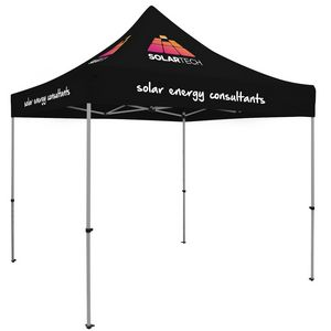 993728704-108 - Premium Aluminum 10' Tent Kit (Imprinted, 5 Locations) - thumbnail