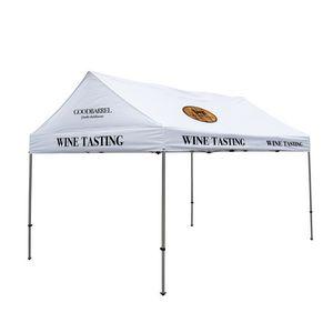 996194308-108 - 10' x 15' Gable Tent Kit (Full-Color Imprint, 5 Locations) - thumbnail