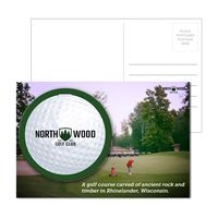 125956915-134 - Post Card With Full-Color Golf Luggage Tag - thumbnail