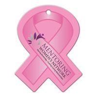 145341362-134 - Awareness Ribbon Shaped Luggage Tag - thumbnail