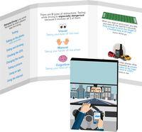 316057828-134 - Awareness Tek Booklet with Traditional Rectangular Shaped Dental Floss - thumbnail