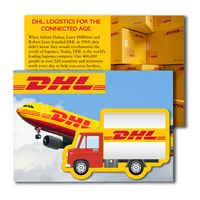365956894-134 - Post Card with Full Color Box Truck Coaster - thumbnail