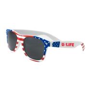 525066509-134 - USA Patriotic Miami Sunglasses - thumbnail
