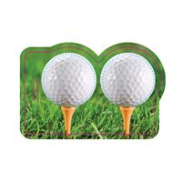 525956916-134 - Post Card With Full-Color Golf Luggage Tag - thumbnail