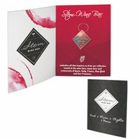576062692-134 - Greeting Card with Wine Charm - thumbnail