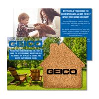 735956385-134 - Post Card with House Shaped Cork Coaster - thumbnail