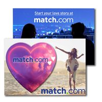 735956885-134 - Post Card with Full Color Heart Coaster - thumbnail