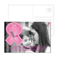 915956942-134 - Post Card With Full-Color Awareness Ribbon Luggage Tag - thumbnail