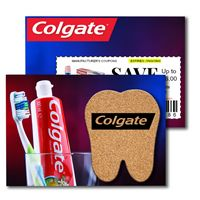 965956398-134 - Post Card with Tooth Cork Coaster - thumbnail