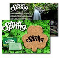 995956402-134 - Post Card with Shamrock Cork Coaster - thumbnail