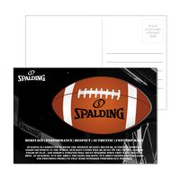 995956902-134 - Post Card with Full Color Football Coaster - thumbnail