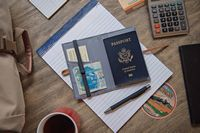 535529598-900 - Hitchcock™ Passport Holder - thumbnail