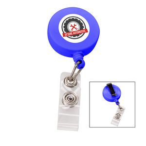 166524853-817 - the Essentials Retractable Badge Holder - Blue - thumbnail