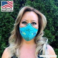 186299074-817 - 2-Layer Microfiber Face Mask with Nose Bridge - Reusable and Washable - thumbnail