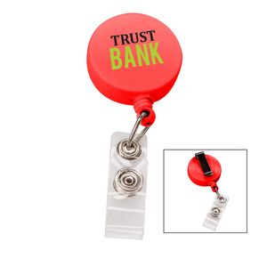 366524856-817 - the Essentials Retractable Badge Holder - Red - thumbnail