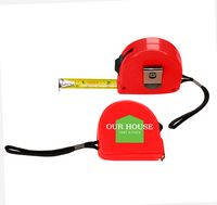 736202899-817 - the Essentials Tape Measure - Red - thumbnail