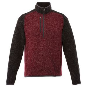 736414853-115 - M-VORLAGE Half Zip Knit Jacket - thumbnail