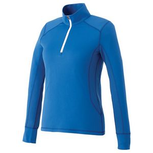 904589089-115 - W-PUMA Golf Tech Half Zip Top - thumbnail